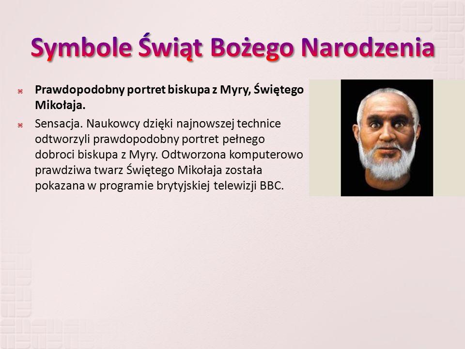  Prawdopodobny portret biskupa z Myry, Świętego Mikołaja.