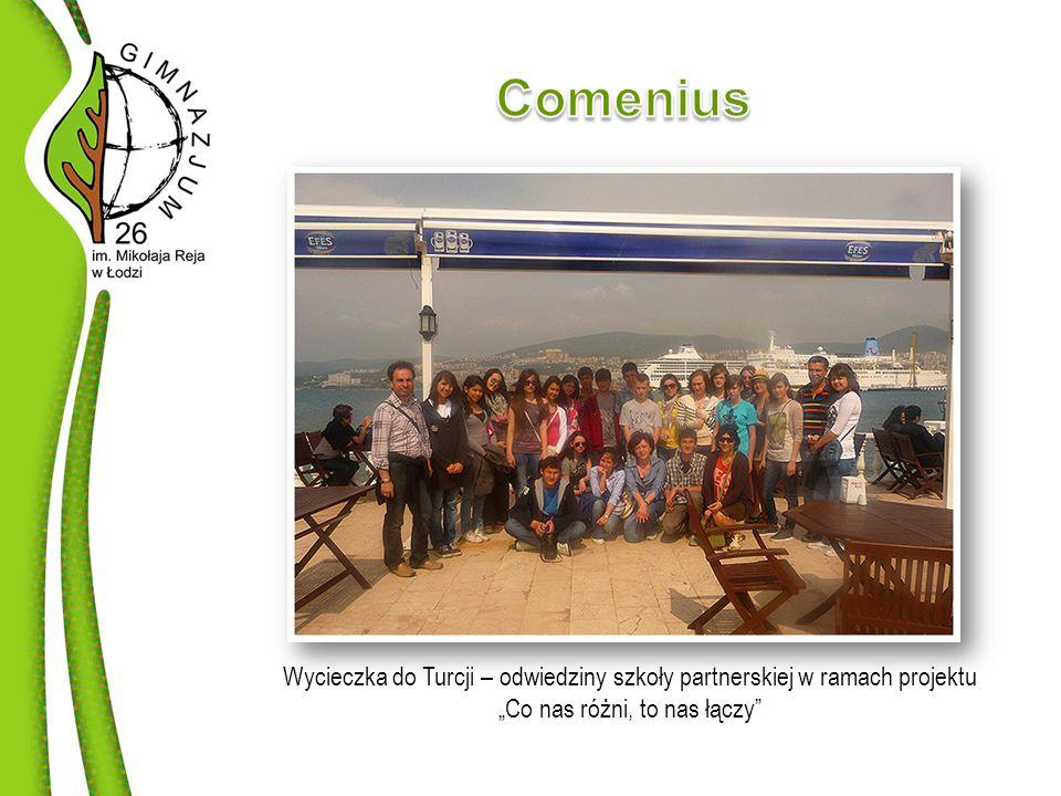 """Wycieczka do Turcji – odwiedziny szkoły partnerskiej w ramach projektu """"Co nas różni, to nas łączy"""