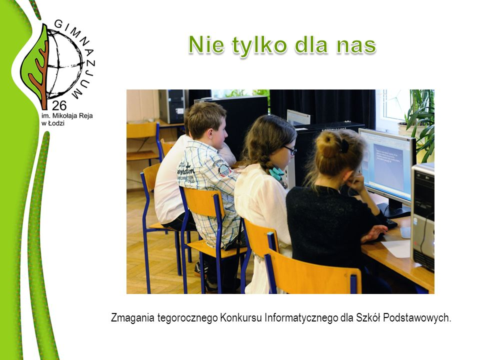 Zmagania tegorocznego Konkursu Informatycznego dla Szkół Podstawowych.