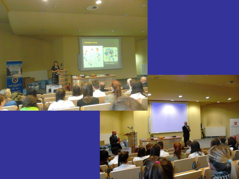Pokazy i szkolenie z ratownictwa medycznego Klasy biologiczno- chemiczne systematycznie uczestniczą w szkoleniach prowadzonych przez ratowników medycznych