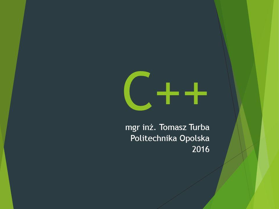 Pierwszy program++ # include using namespace std; int main (int argc, char *argv[]) { cout << [msG]: witaj panie. << endl; // to jest komentarz 1l return 0; /* to jest komentarz */ }