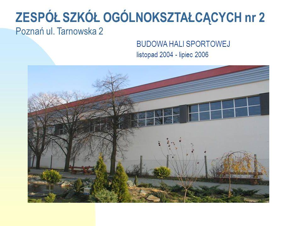 ZESPÓŁ SZKÓŁ OGÓLNOKSZTAŁCĄCYCH nr 2 Poznań ul.