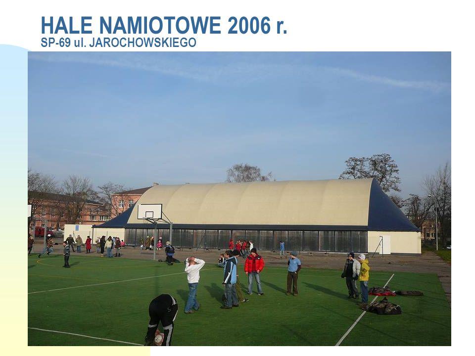 HALE NAMIOTOWE 2006 r. SP-69 ul. JAROCHOWSKIEGO