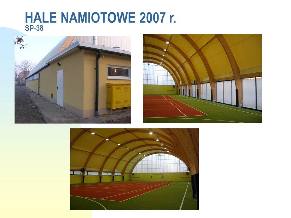 HALE NAMIOTOWE 2007 r. SP-38