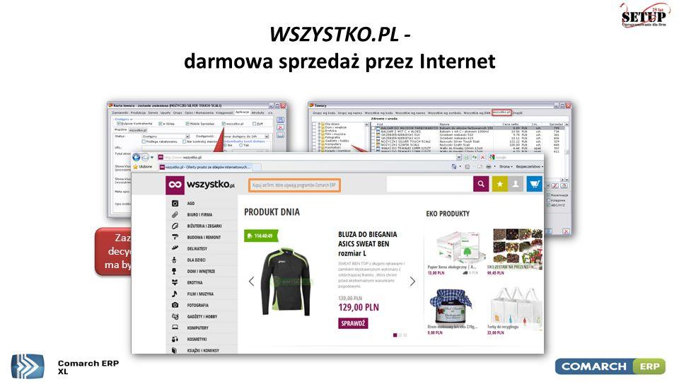 WSZYSTKO.PL - darmowa sprzedaż przez Internet Zaznaczenie parametru decyduje o tym, czy indeks ma być widoczny na portalu Indeksy należy przyporządkow