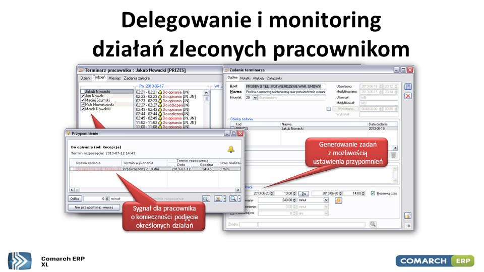 Dziękuję! Jacek Sadowski SETUP Comarch Partner jacek.sadowski@setup.elk.pl