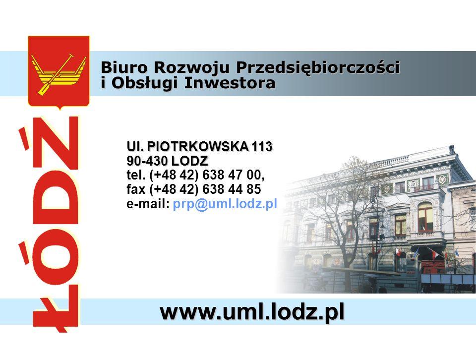 www.uml.lodz.pl Ul. PIOTRKOWSKA 113 90-430 LODZ tel.