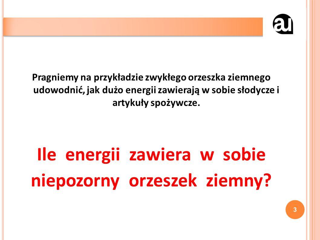 Zawartość energetyczna 14