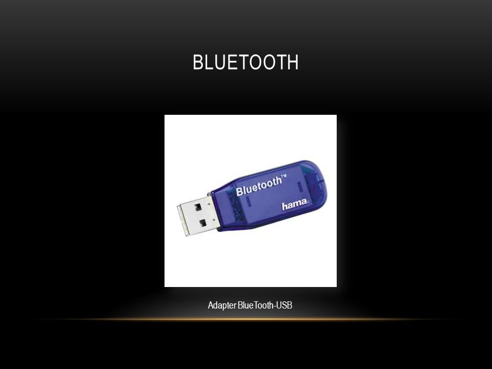 BLUETOOTH Adapter BlueTooth-USB
