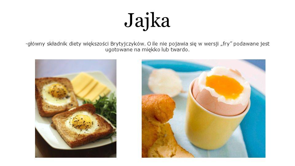 Jajka -główny składnik diety większości Brytyjczyków.