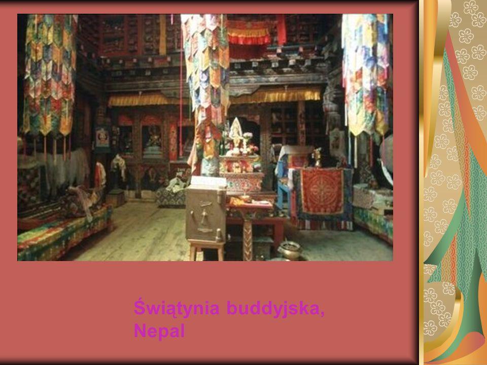 Świątynia buddyjska, Nepal