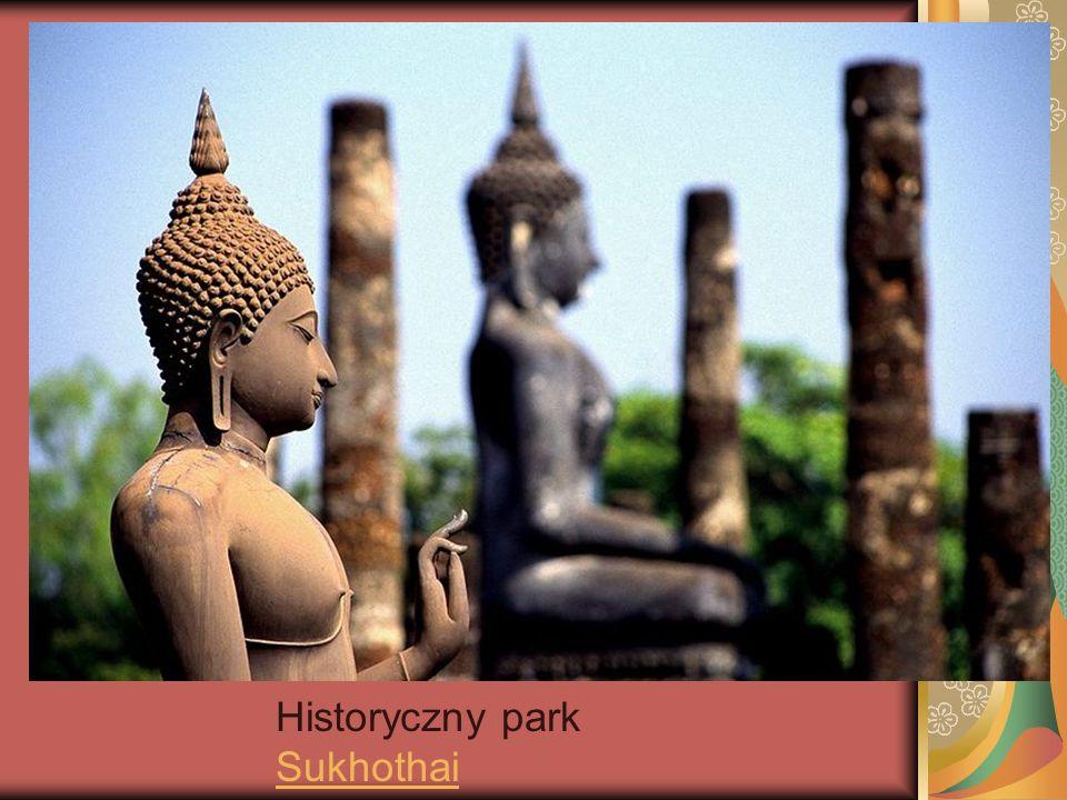 Historyczny park Sukhothai Sukhothai
