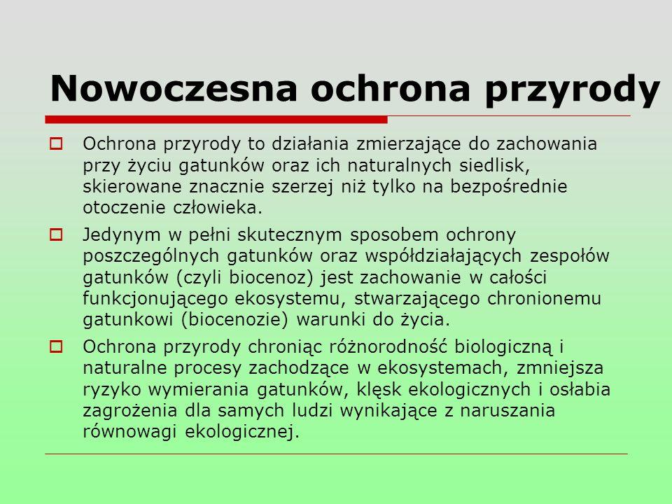 Dzięki temu, że Polska jest krajem nizinnym i znajduje się w strefie klimatu umiarkowanego, a rozwój ekonomiczny przebiegał tu znacznie wolniej niż w krajach zachodnioeuropejskich, może się szczycić ogromną różnorodnością krajobrazu i bogactwem biocenoz.