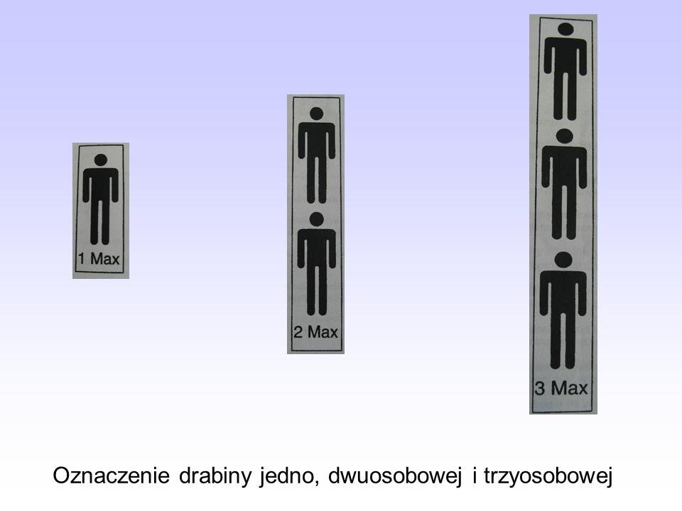 Kontrola bieżąca drabin Kontrolę bieżącą należy przeprowadzić po każdym użyciu drabiny.