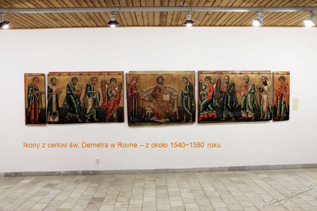Modele cerkwi łemkowskich w Muzeum Ikon