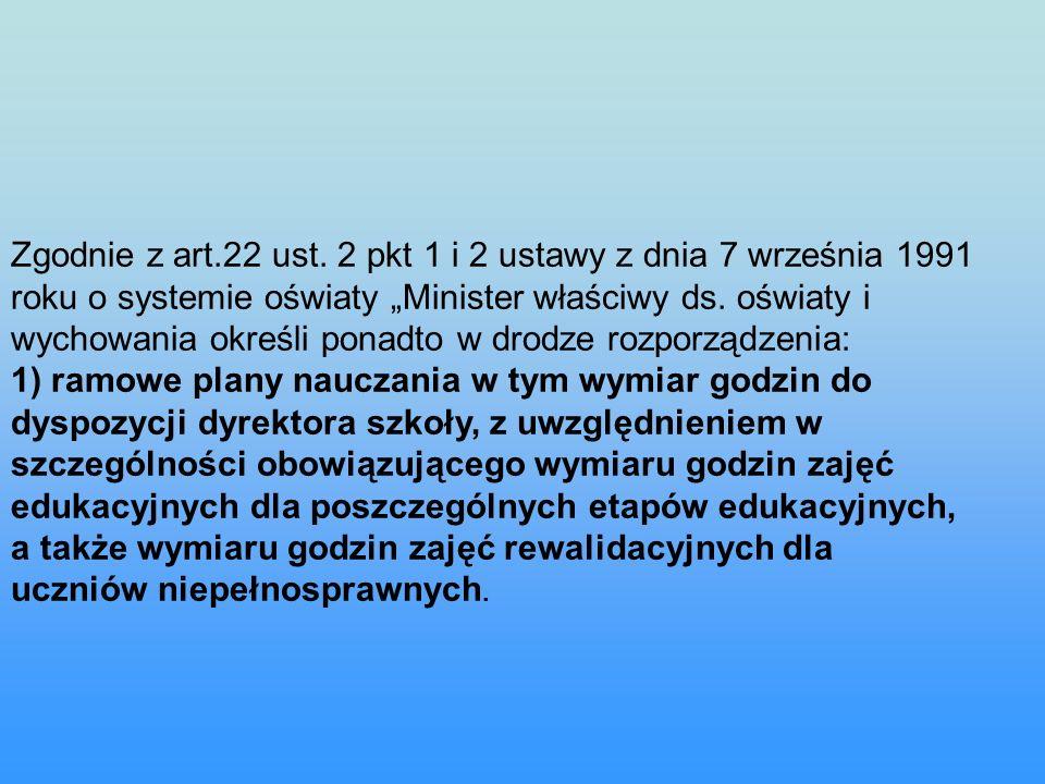 Zgodnie z art.22 ust.