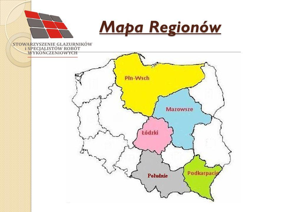 Mapa Regionów