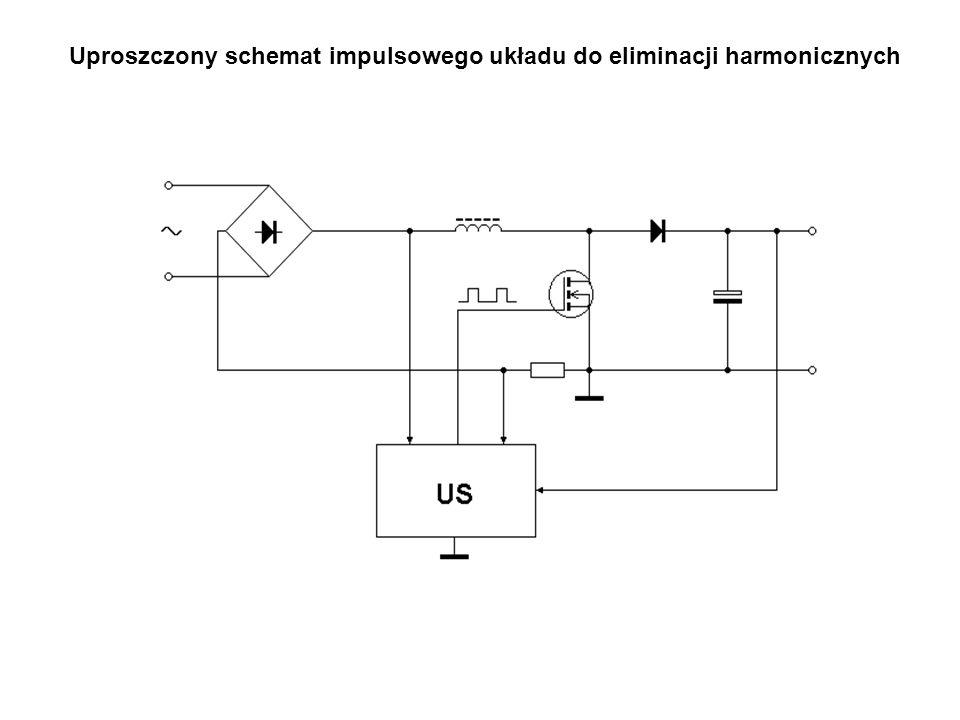 Uproszczony schemat impulsowego układu do eliminacji harmonicznych