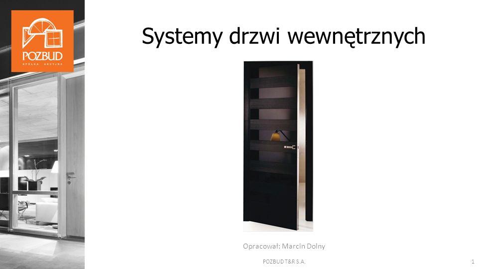 Opracował: Marcin Dolny Systemy drzwi wewnętrznych 1POZBUD T&R S.A.