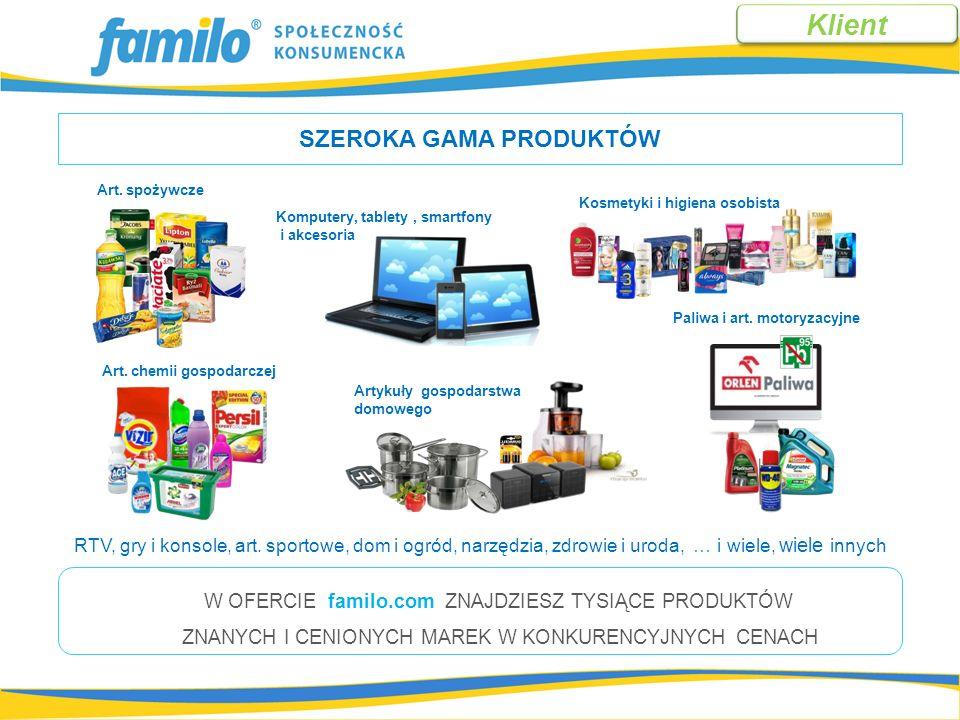 Z D P - ZYSK DO PODZIAŁU W sklepie familo przy każdym produkcie oprócz ceny znajduje się druga wartość, którą nazywamy: Produkty mają przypisaną różną wartość Z D P Dla celów naszego przykładu przyjmujemy, że średnio jest to 6% ZAPAMIĘTAJ.