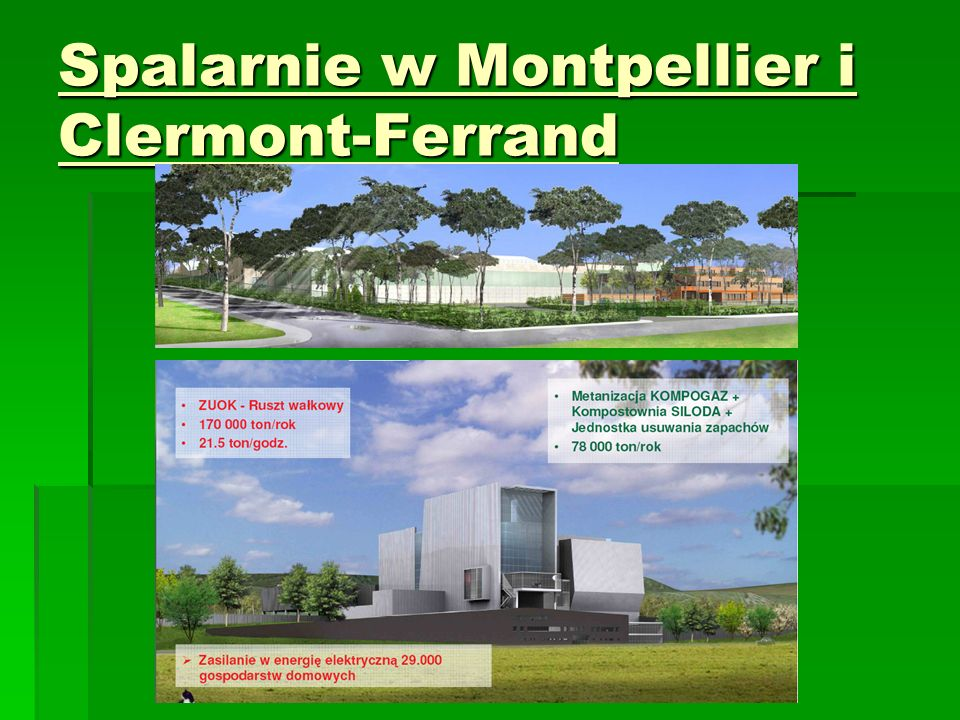 Spalarnie w Montpellier i Clermont-Ferrand