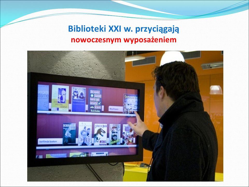 Wagoniki transportujące książki w BN Francji – system sterowany komputerowo [skraca czas oczekiwania na zamówienie do kilku minut]