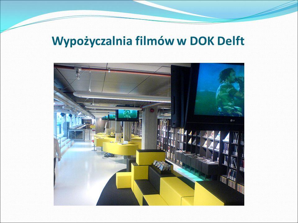 Wypożyczalnia filmów w DOK Delft