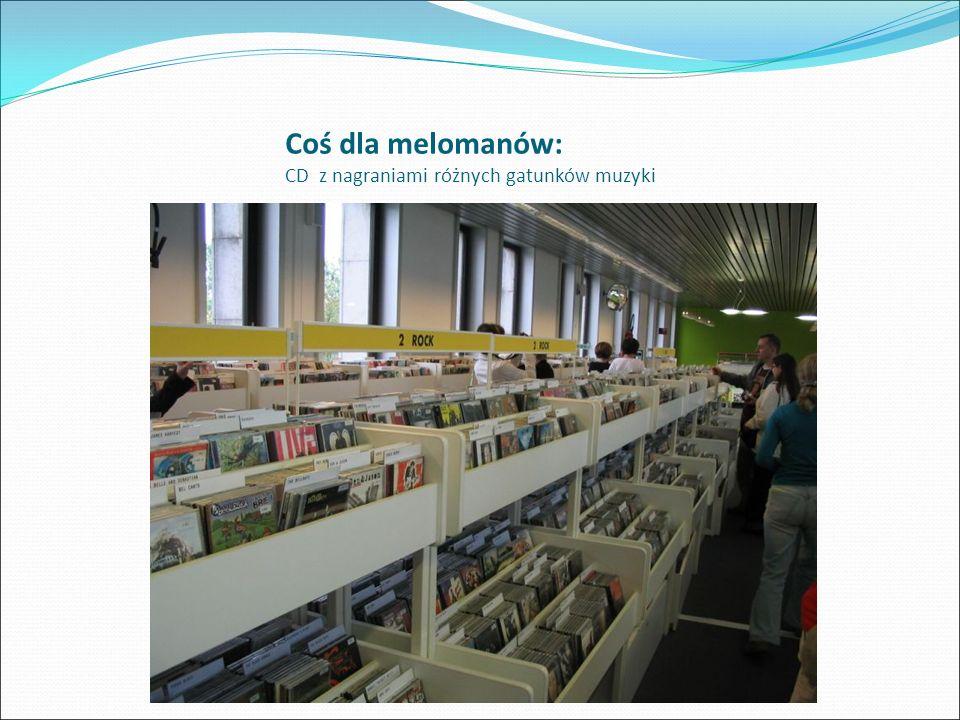 Biblioteka w Centre Pompidou w Paryżu Dział muzyczny