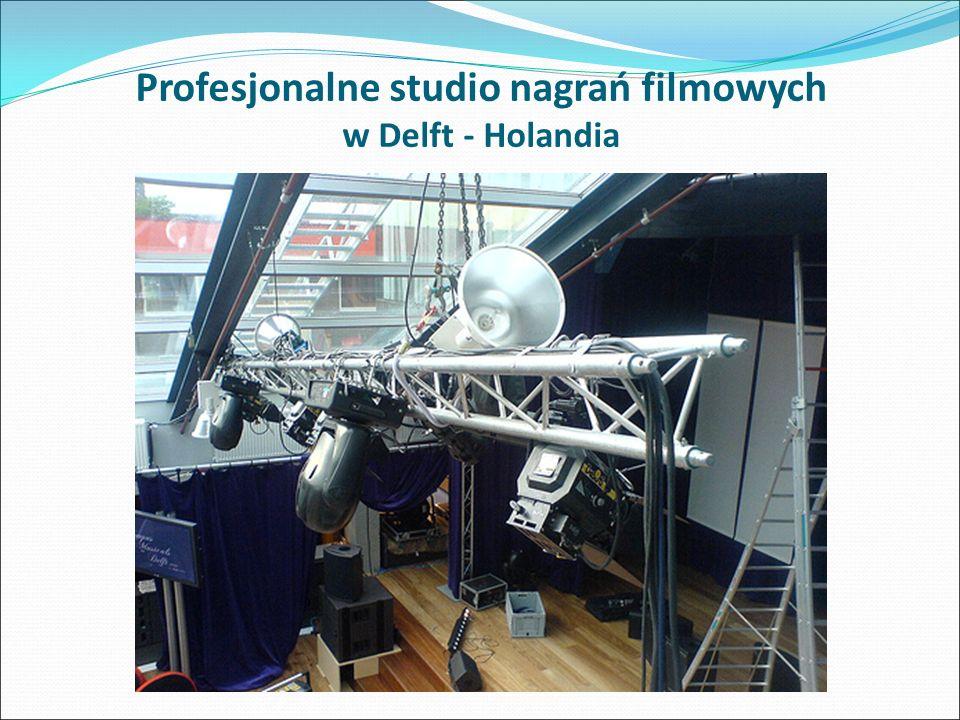 Profesjonalne studio nagrań filmowych w Delft - Holandia