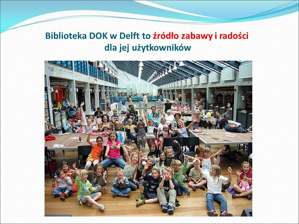 Biblioteka DOK w Delft to źródło zabawy i radości dla jej użytkowników