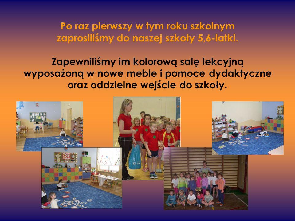 Po raz pierwszy w tym roku szkolnym zaprosiliśmy do naszej szkoły 5,6-latki.