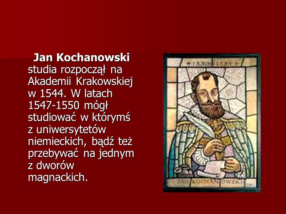 Pomnik Jana Kochanowskiego Jednym z najważniejszych elementów Dni Radomia (23- 25.06.2006) było odsłonięcie pomnika Jana Kochanowskiego.
