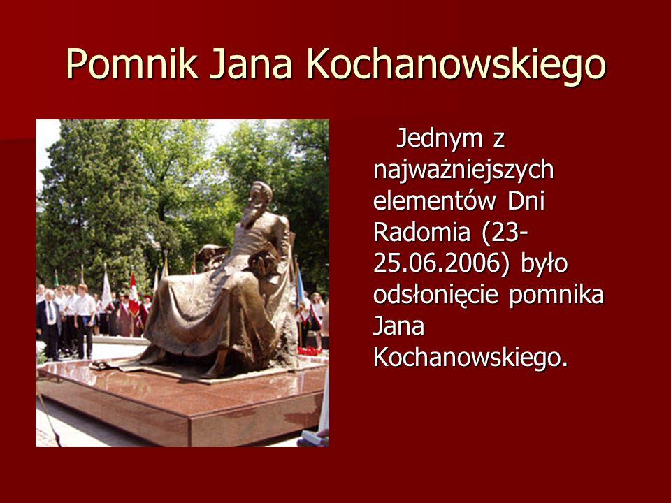 Jan Kochanowski, którego możemy zwać ojcem języka polskiego.
