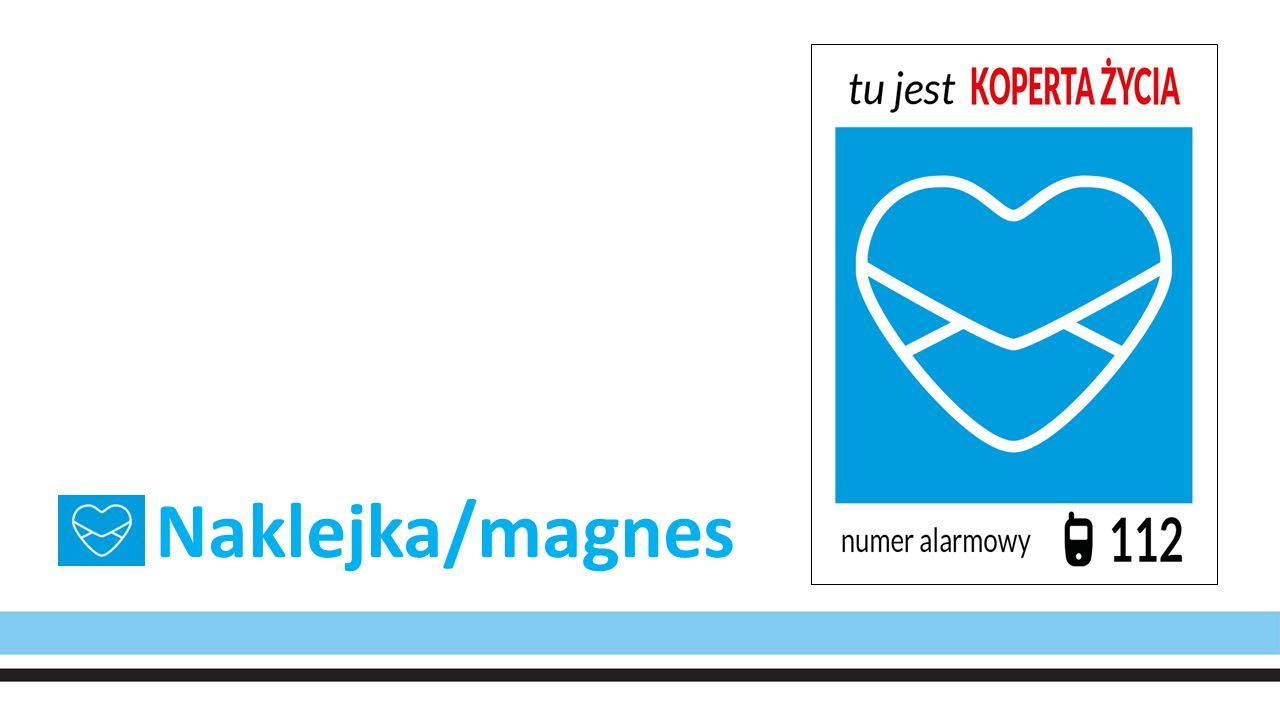 Naklejka/magnes