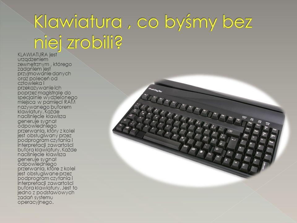 Komputer ma wiele zastosowań m.in.: - W dzisiejszych czasach jest niezbędny do pracy.