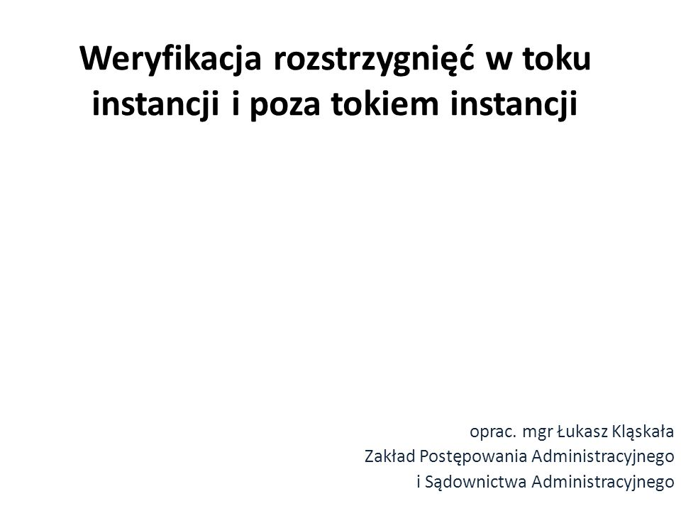 W postępowaniu podatkowym przepisy o.p.