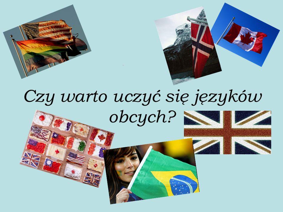 Czy warto uczyć się języków obcych