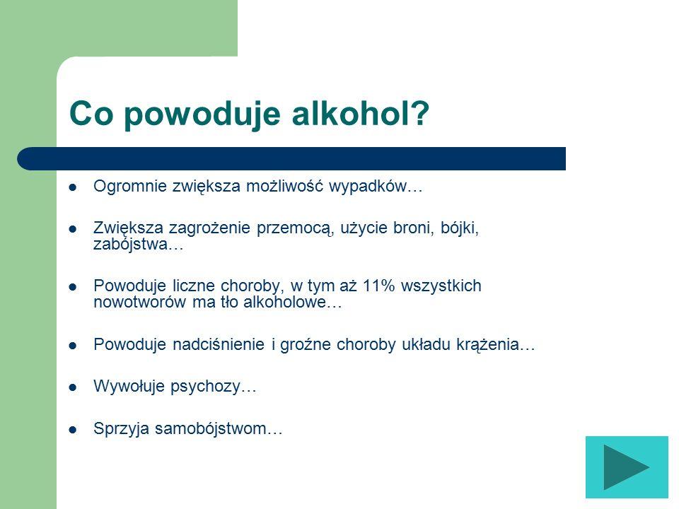 Co powodują narkotyki? Zaburzenia poznawcze prowadzące do wypadków ze skutkiem śmiertelnym (np. drogowe, halucynacje, utrata kontroli). Psychozy i zwi