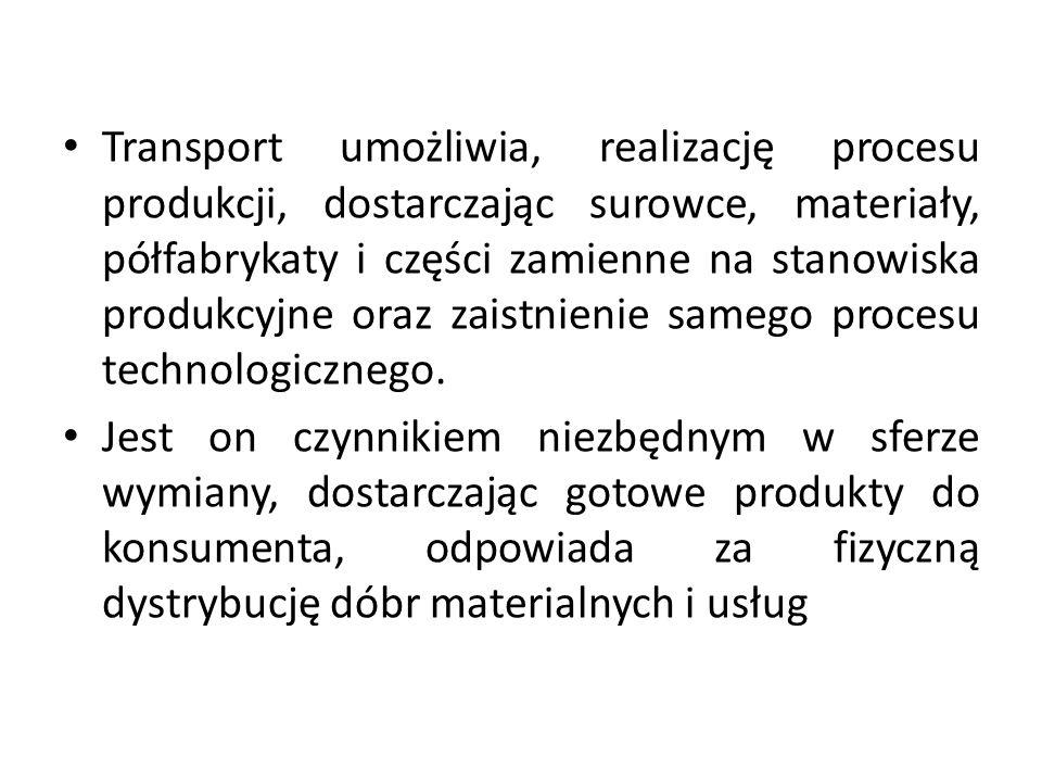 Zagadnienia transportowe Jest to zbiór zagadnień badań operacyjnych związanych z transportem.