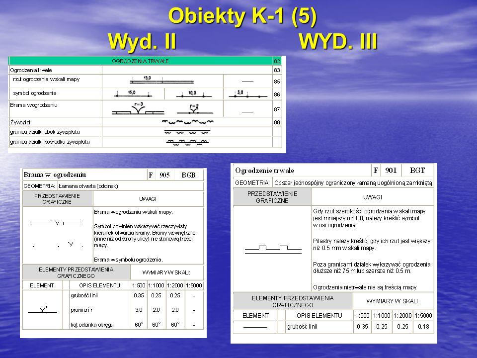 Obiekty K-1 (5) Wyd. IIWYD. III