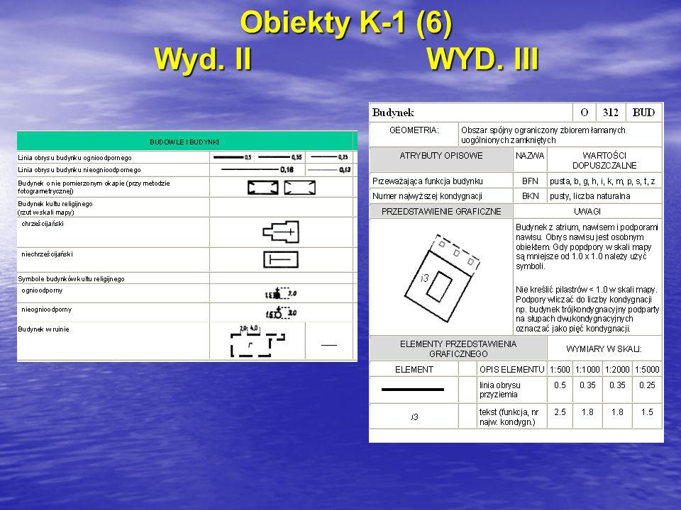 Obiekty K-1 (6) Wyd. IIWYD. III