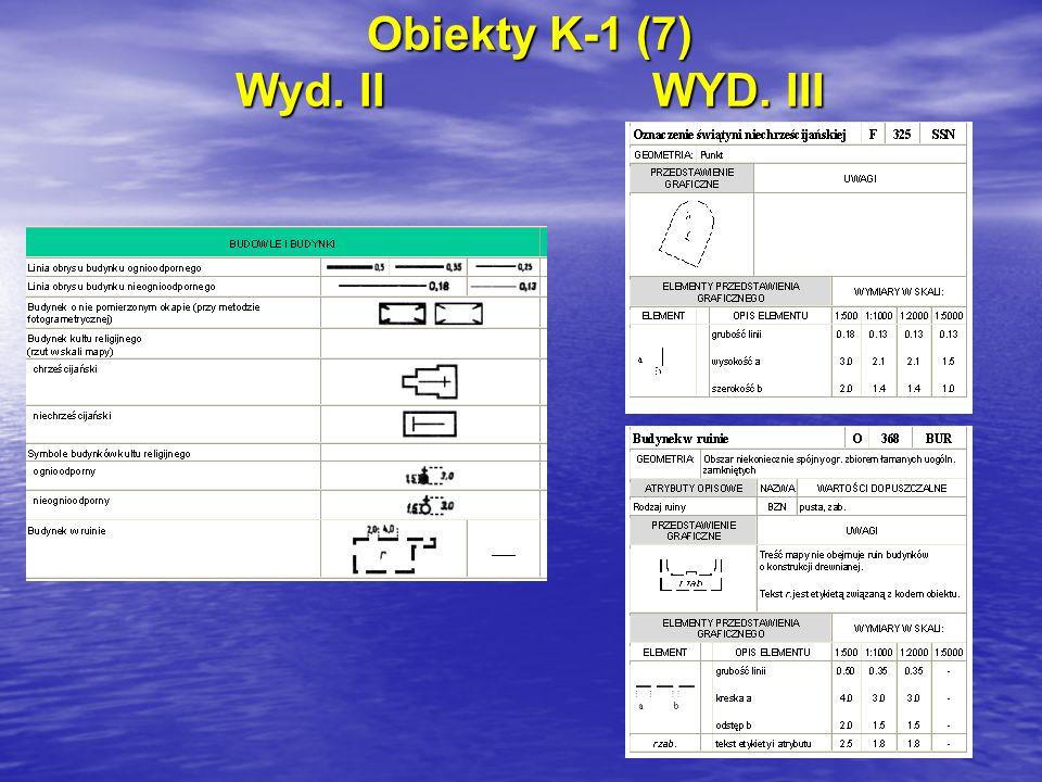 Obiekty K-1 (7) Wyd. IIWYD. III
