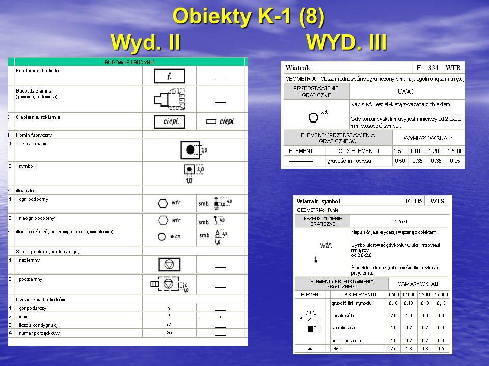 Obiekty K-1 (8) Wyd. IIWYD. III
