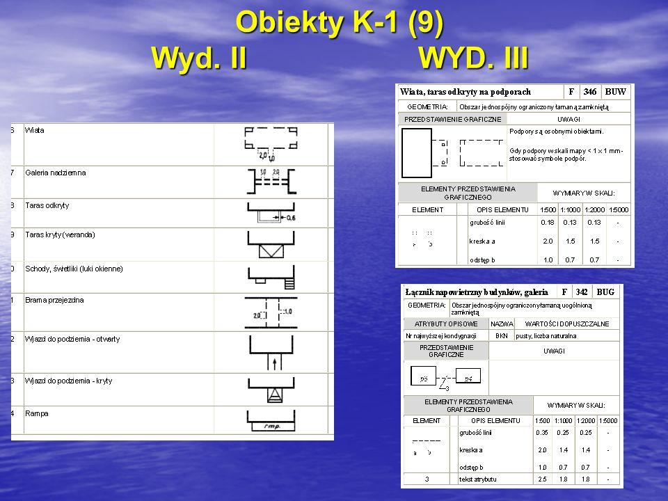 Obiekty K-1 (9) Wyd. IIWYD. III
