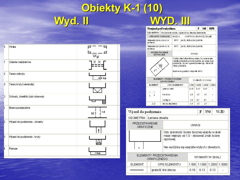 Obiekty K-1 (10) Wyd. IIWYD. III