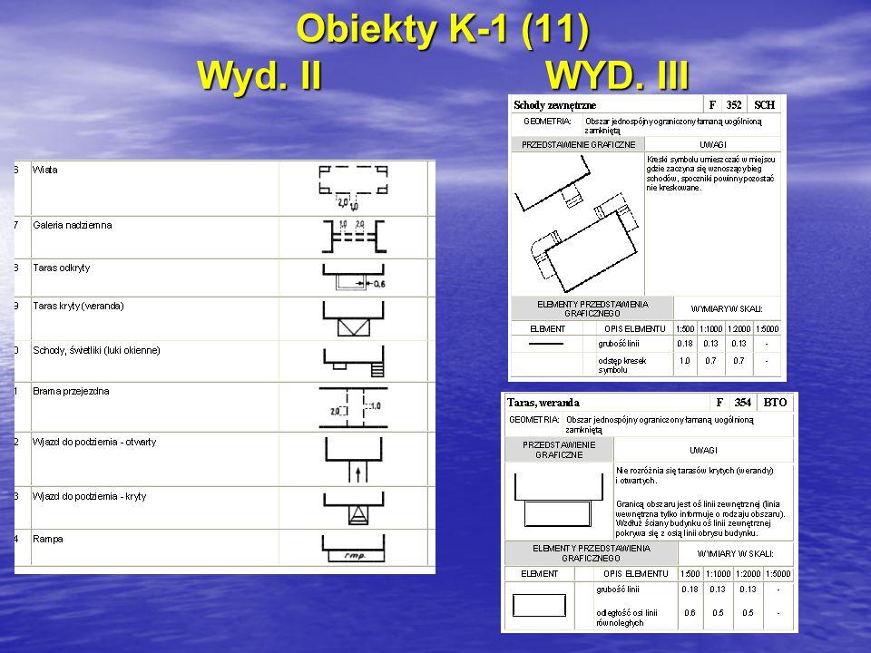 Obiekty K-1 (11) Wyd. IIWYD. III