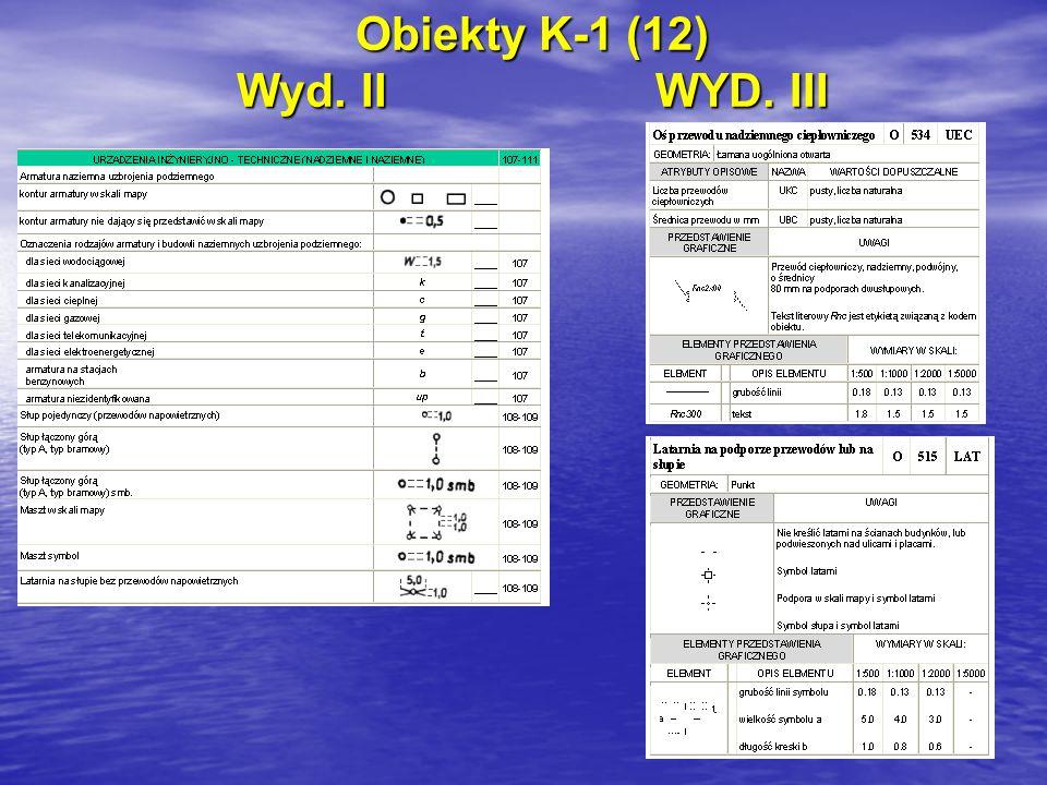 Obiekty K-1 (12) Wyd. IIWYD. III