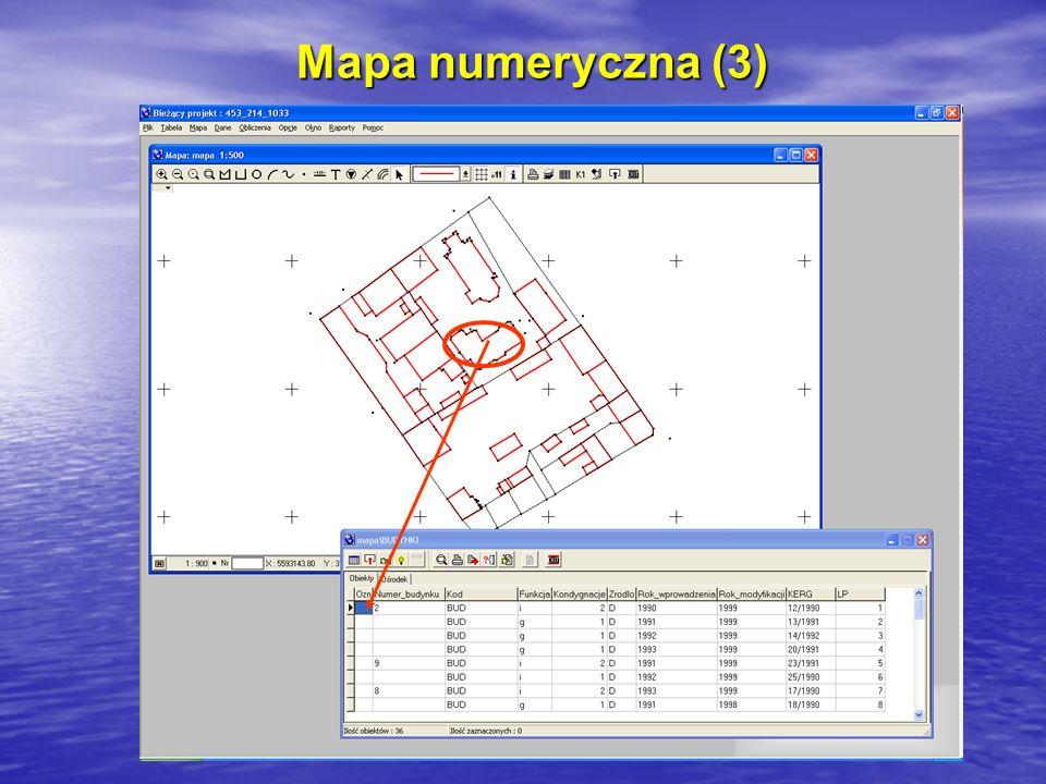 Mapa numeryczna (3)