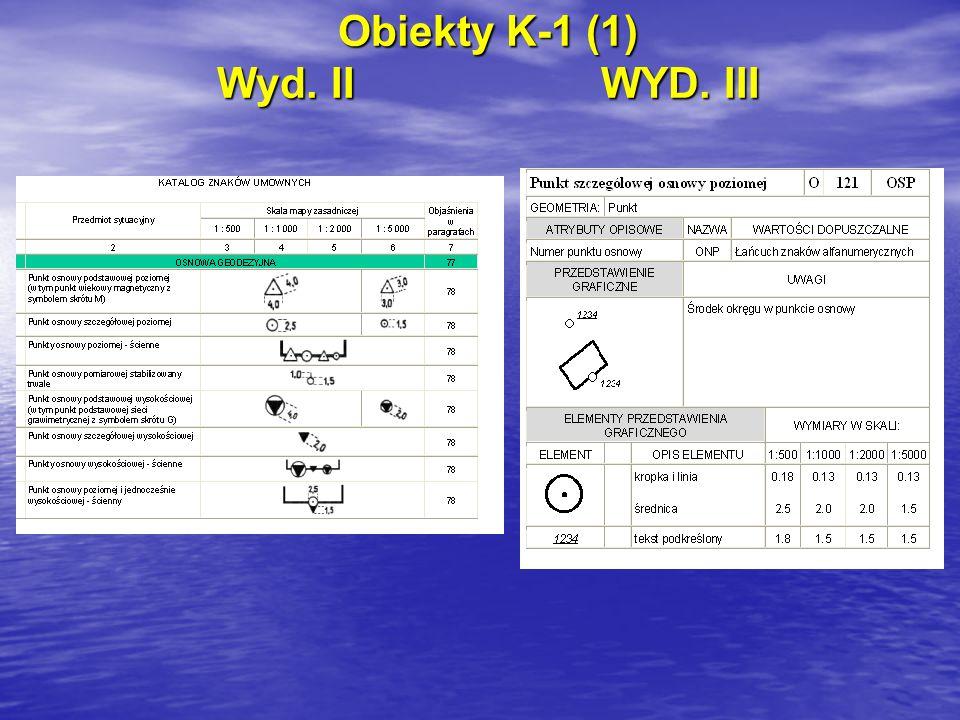 Obiekty K-1 (1) Wyd. IIWYD. III