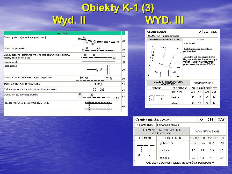 Obiekty K-1 (3) Wyd. IIWYD. III
